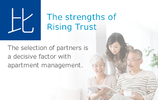 The strengths of Rising Trust